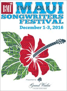Maui Songwriters Festival 2016