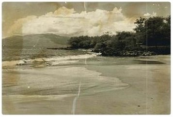 photo of Wailea Beach 1955