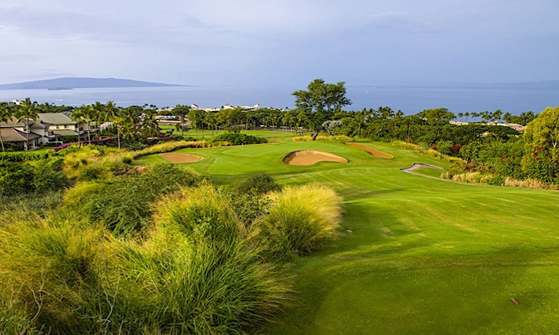 photo of Wailea Golf Club - Blue Course