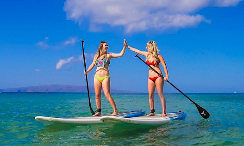 photo of Wailea Stand Up Paddling, by Andaz Beach Crew