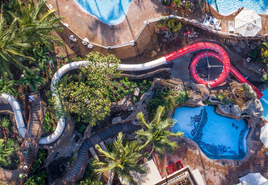 Lava Tube Slide comes to Grand Wailea