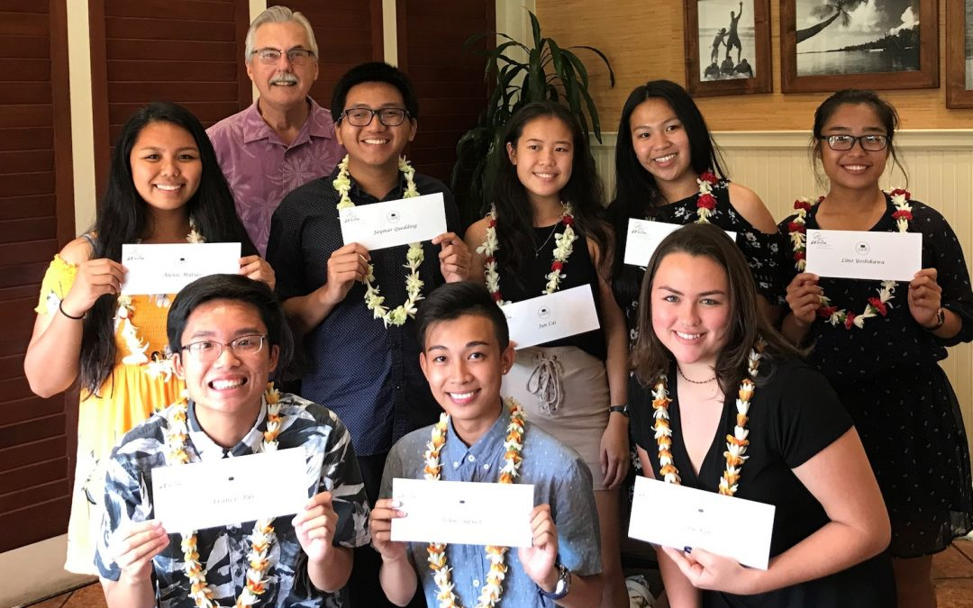Wailea Community Association Awards $28,000 in Maui County Scholarships
