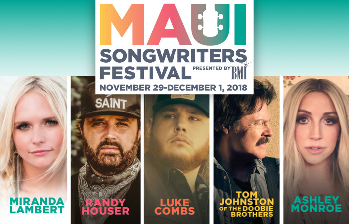 All-Star Lineup for the Maui Songwriters Festival