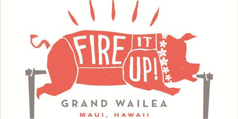 Fire it up at the Grand Wailea logo