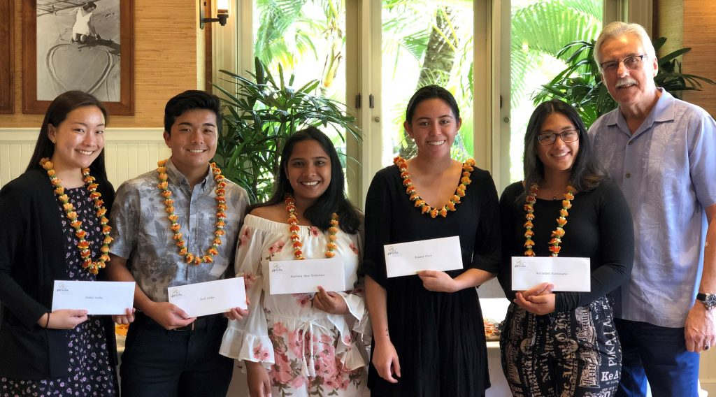Congratulations, Winners of 2019 Scholarships!