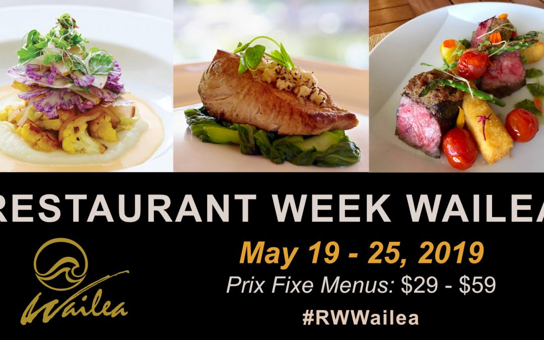 Savor Restaurant Week Wailea at 21 Participating Resort Restaurants